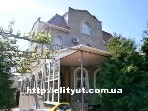 Дом, к морю 10мин, евро ремонт, автопарковка на 3-4 места, мангал